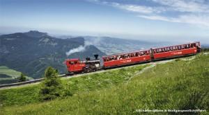 Tourismus Dampf-Zahnradbahn Schafbergbahn