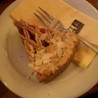 Typische Torte aus Mürbteig und Oberösterreich