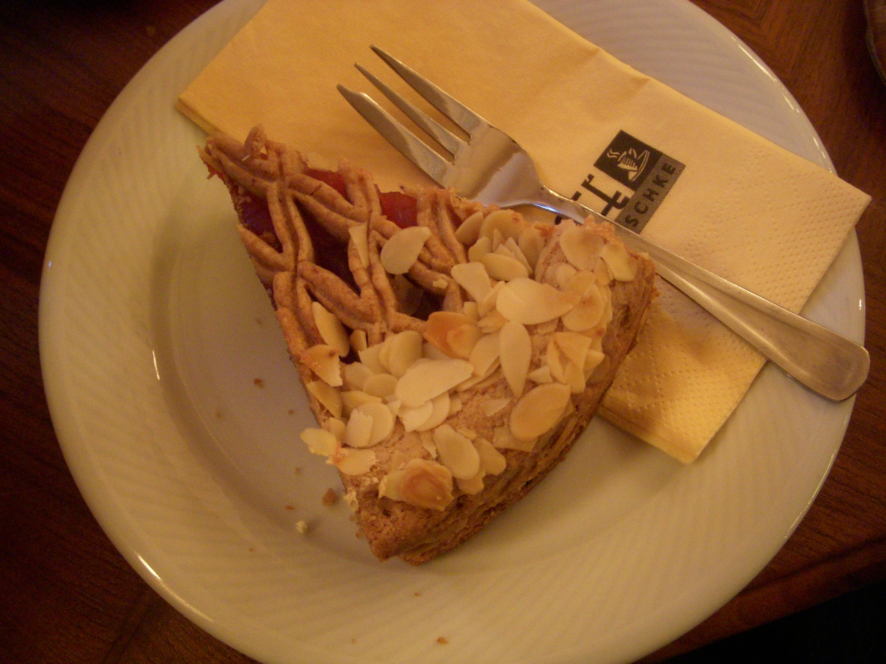 Typische Torte aus Oberösterreich