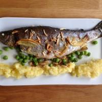 Forelle nach Müllerin Art, ein beliebtes Fischgericht