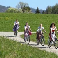E-Bike fahren in Salzkammergut
