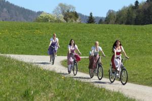 Ausfahrt mit dem E-Bike
