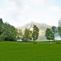 Badeplatz des Seehofs Mondsee