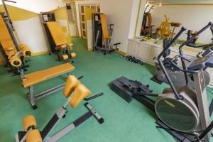 Hoteleigenes Fitnessstudio im Seehof Mondsee